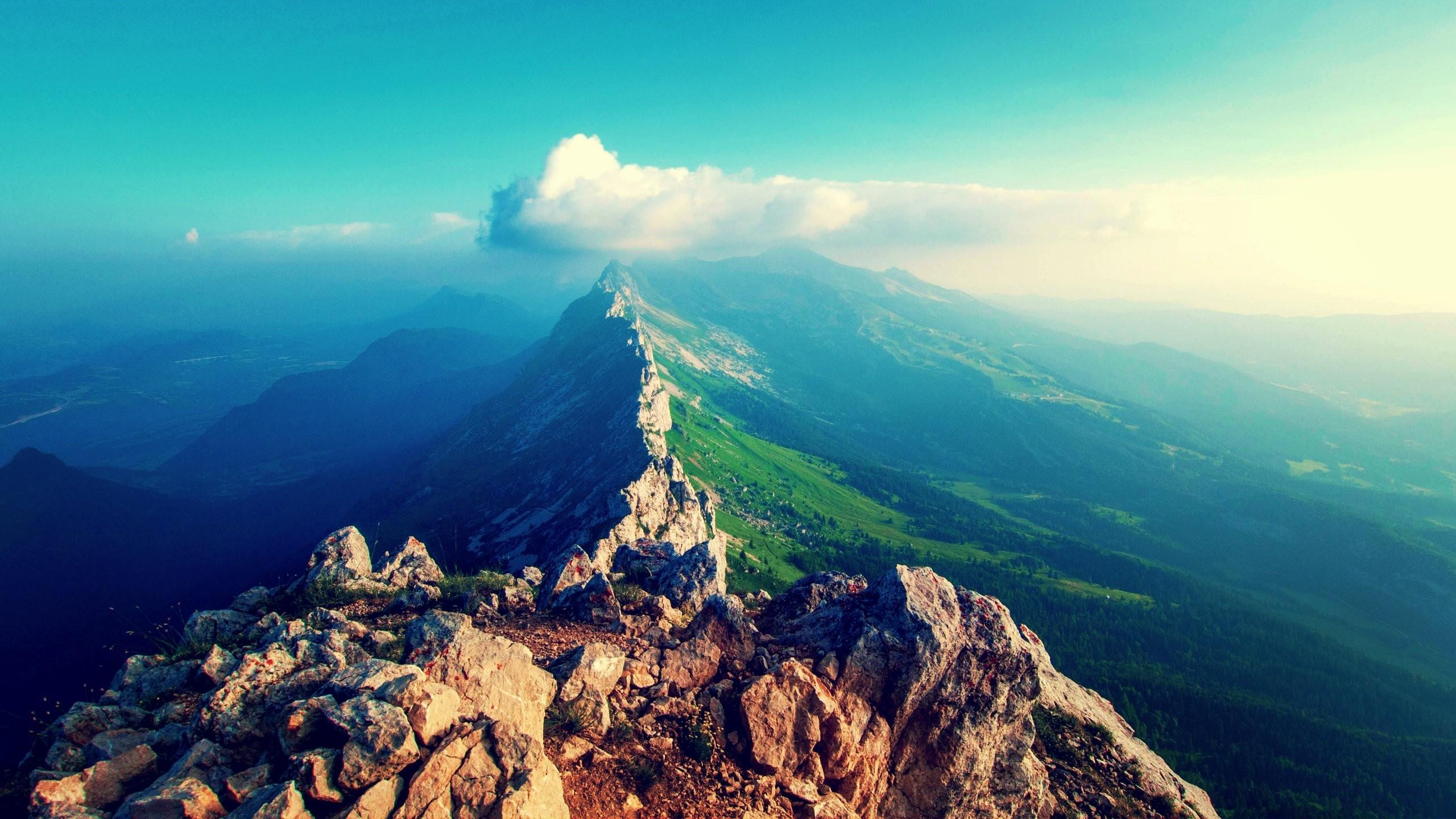 Горы с высоты  № 519901  скачать