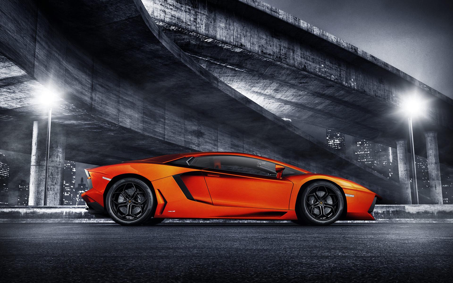 Lamborghini голубая отражение  № 2522887 без смс