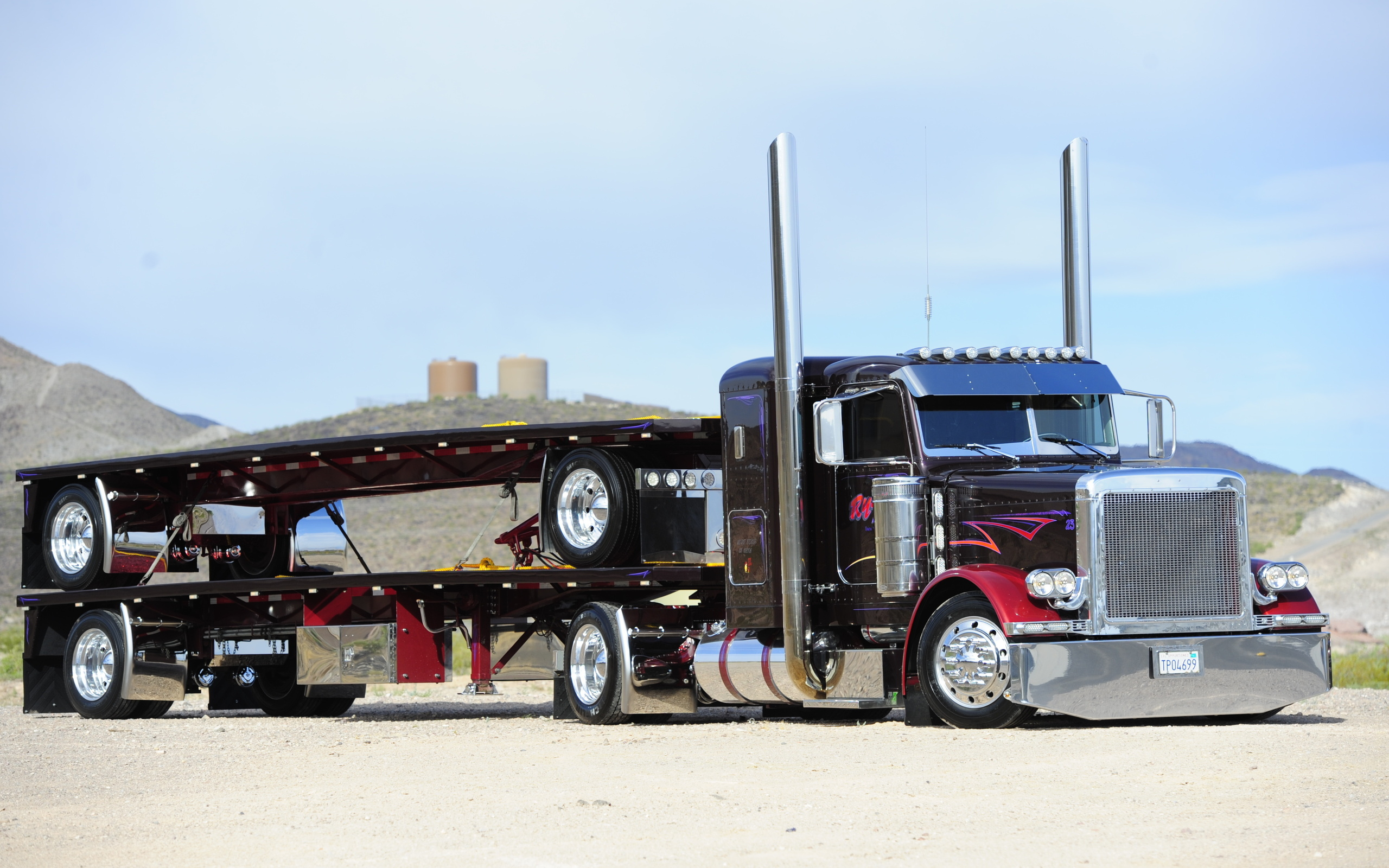 желтый грузовик  № 204837  скачать