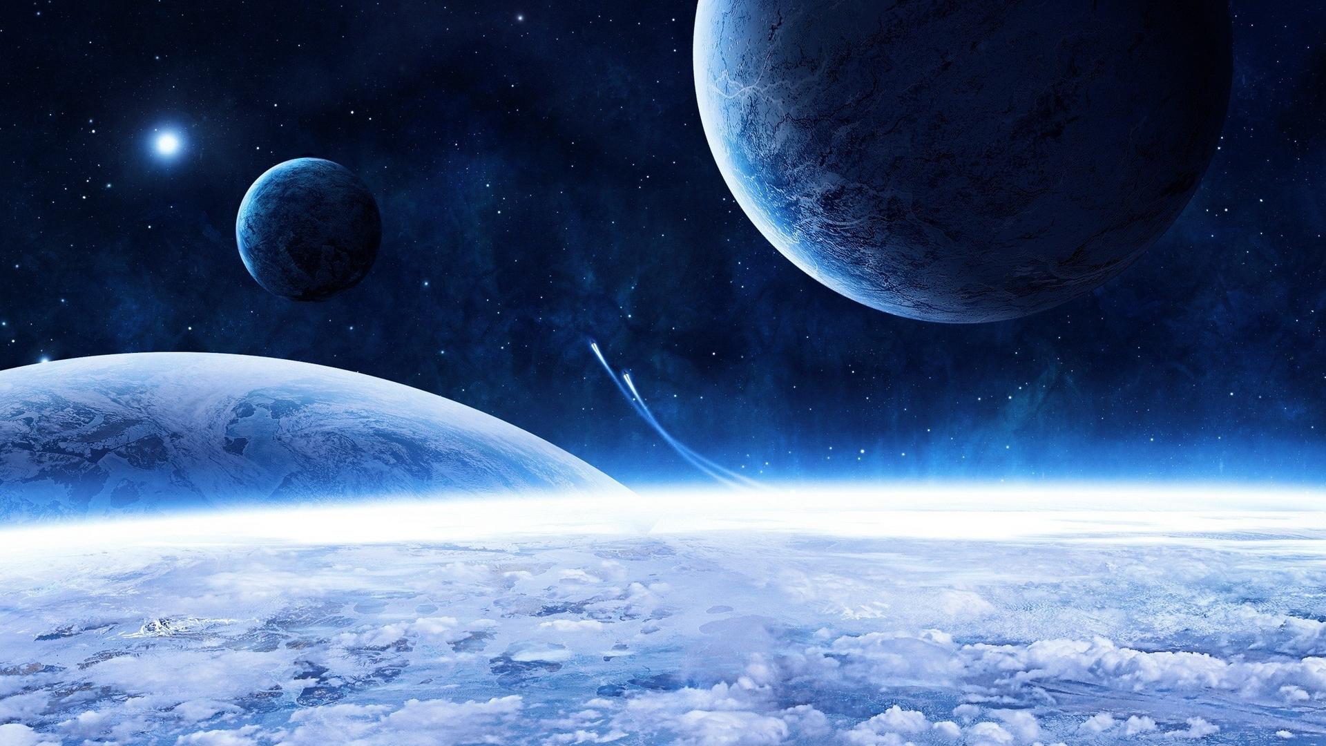 Обои космический корабль планета картинки на рабочий стол на тему Космос - скачать  № 3950431 бесплатно