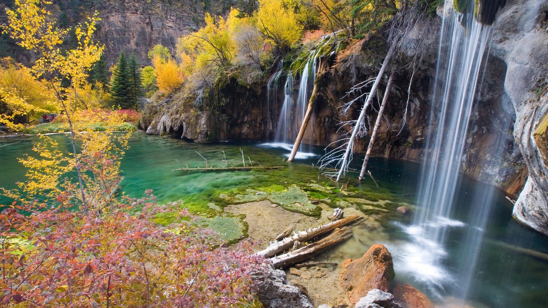 водопад скала без смс