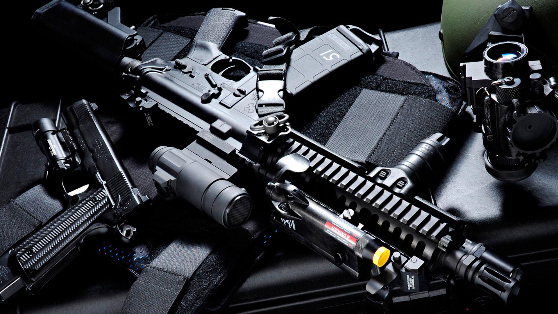 Револьвер с прицелом анонимно