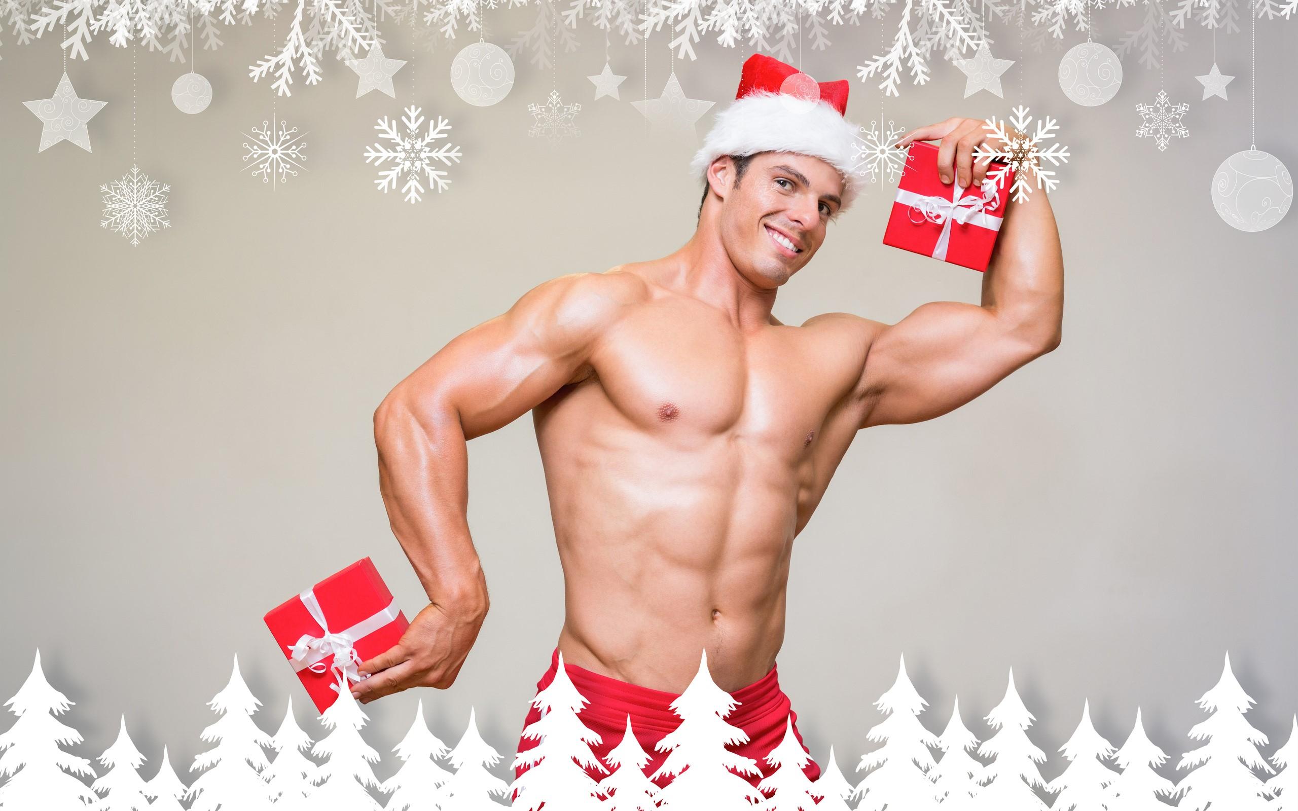 Новогодние картинки для мужчины