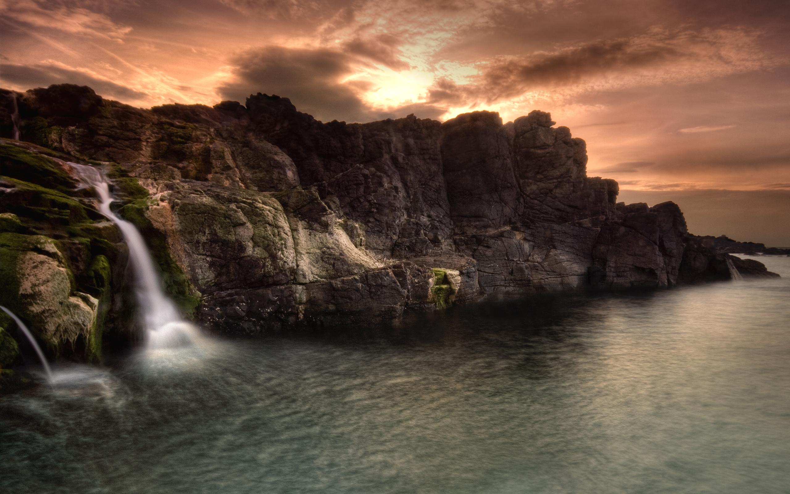 скалы вода загрузить
