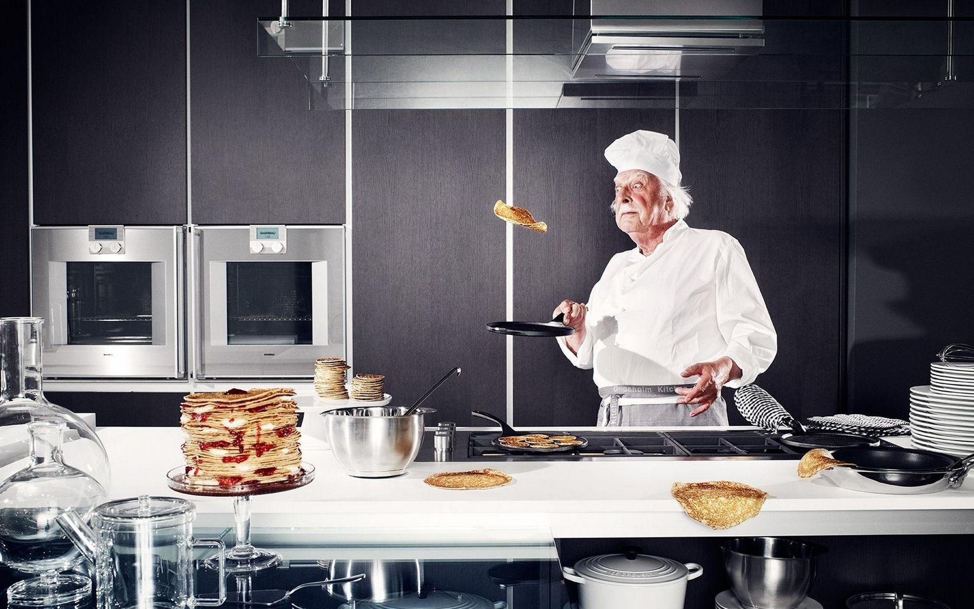 Работа на кухне в картинках