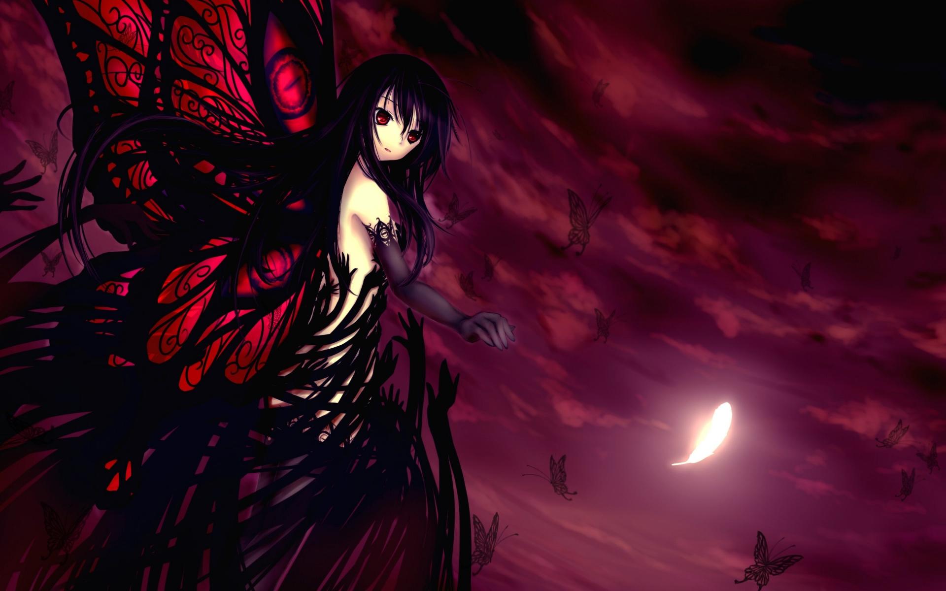 Самые красивые картинки аниме, надписями