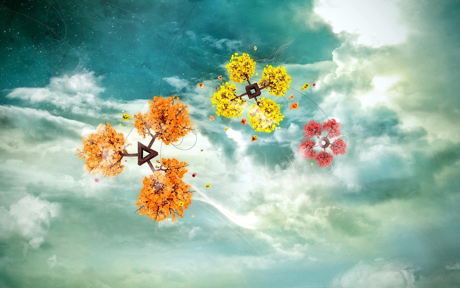 графика космос цветы роза graphics space flowers rose  № 927212 загрузить
