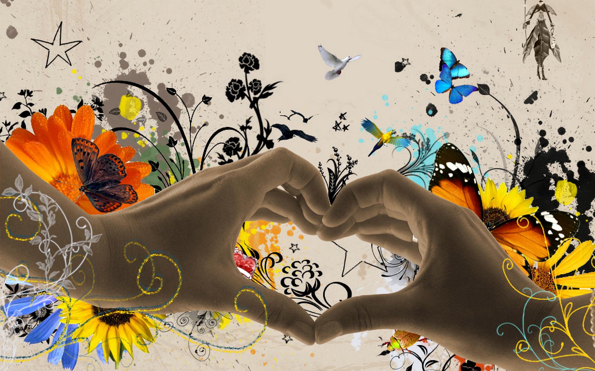 Позитивные картинки с надписями любовь, маме открытку днем