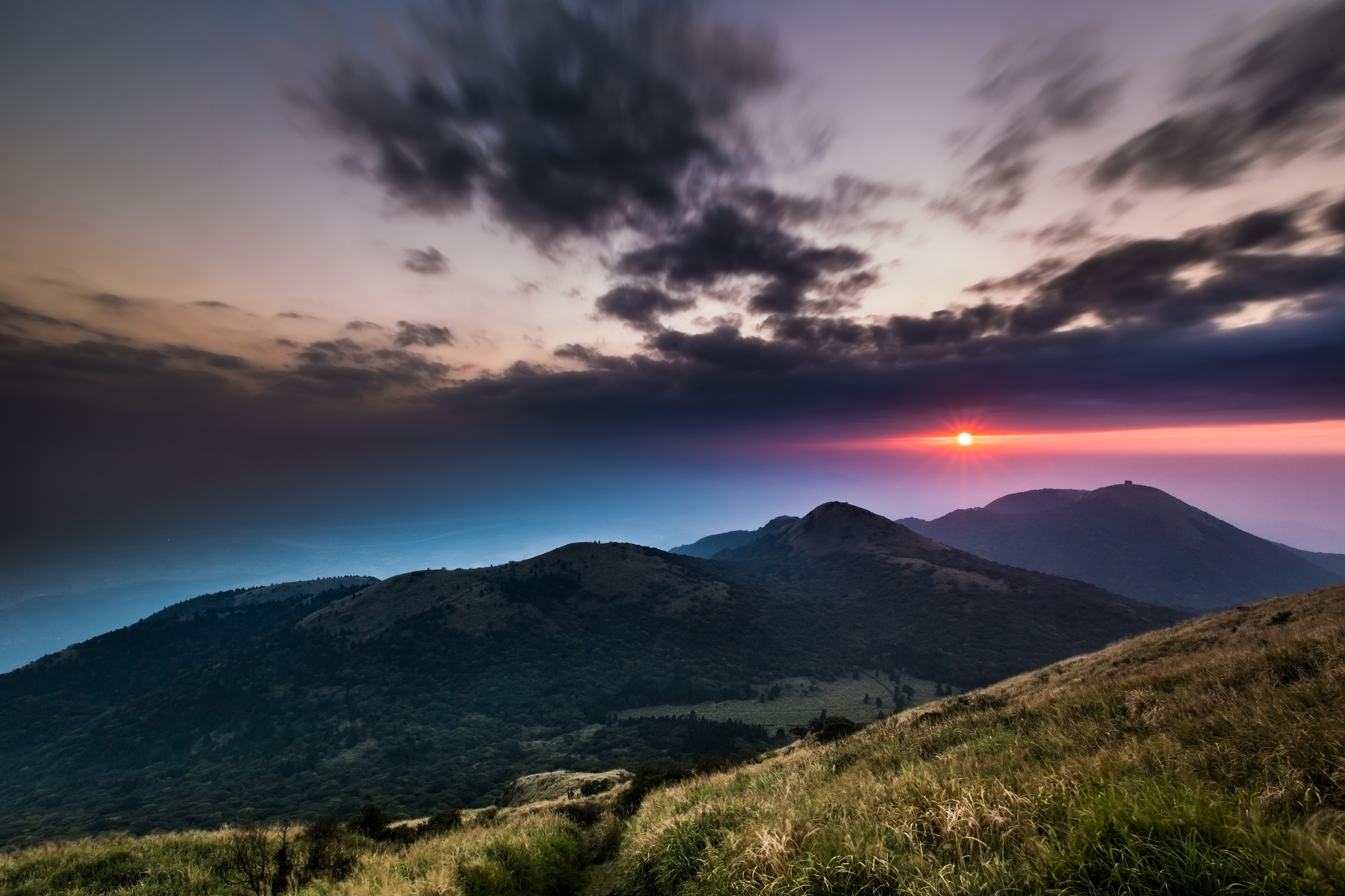 Холмы горы солнце  № 2744549  скачать