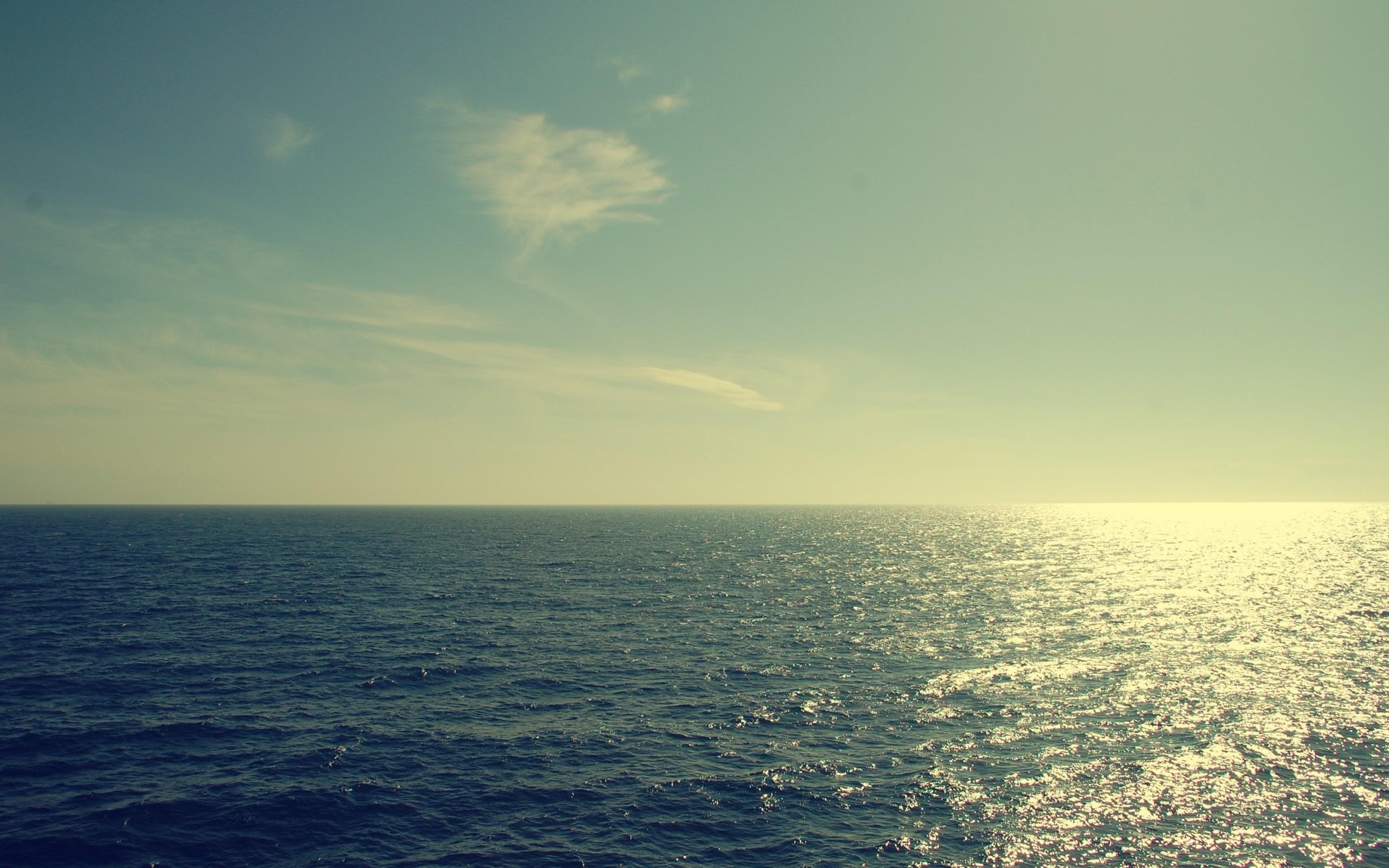 природа море горизонт nature sea horizon без смс