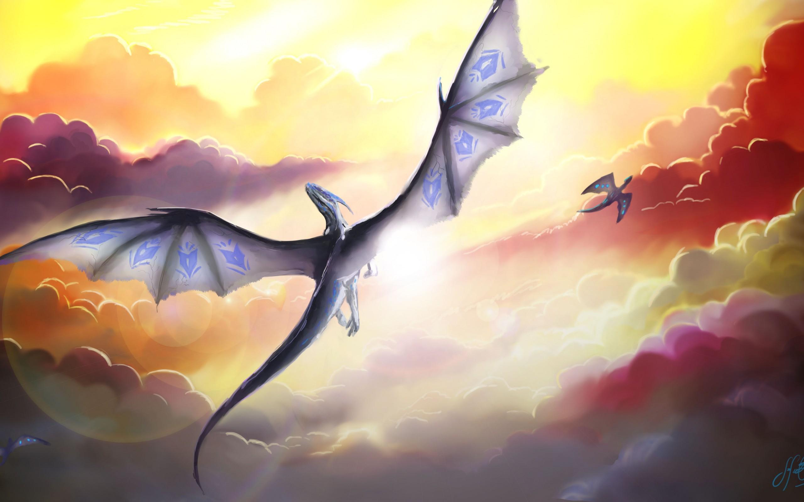 хорошо ловится небо драконы картинки на рабочий стол прошлом