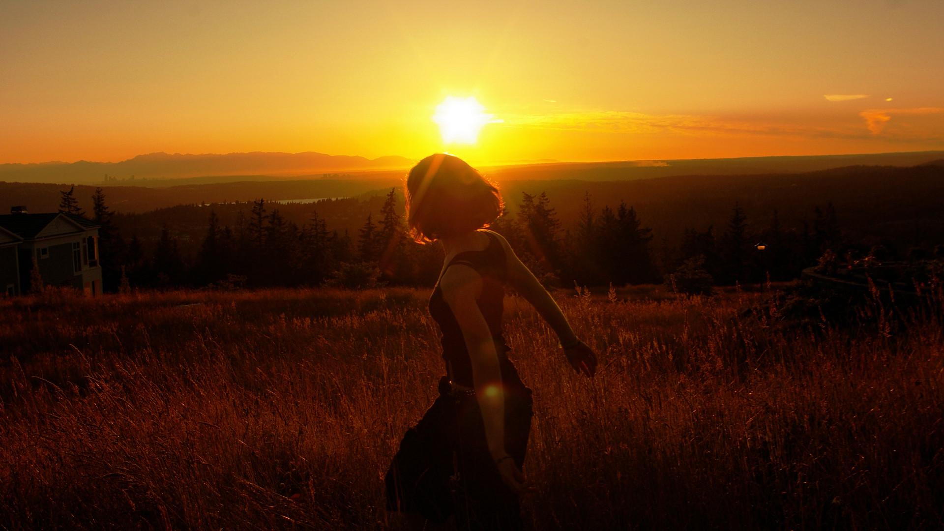 закат склон sunset the slope  № 1569286  скачать