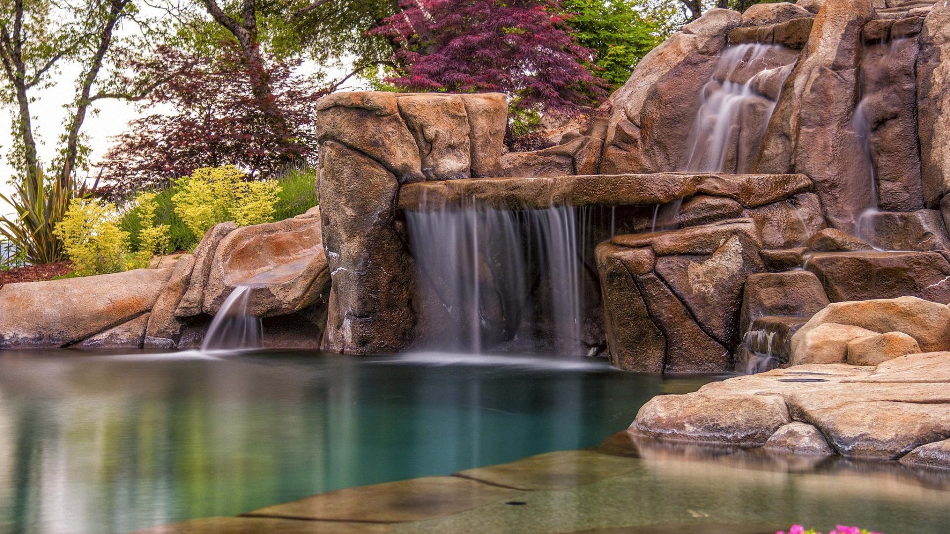 Искуственный водопад загрузить