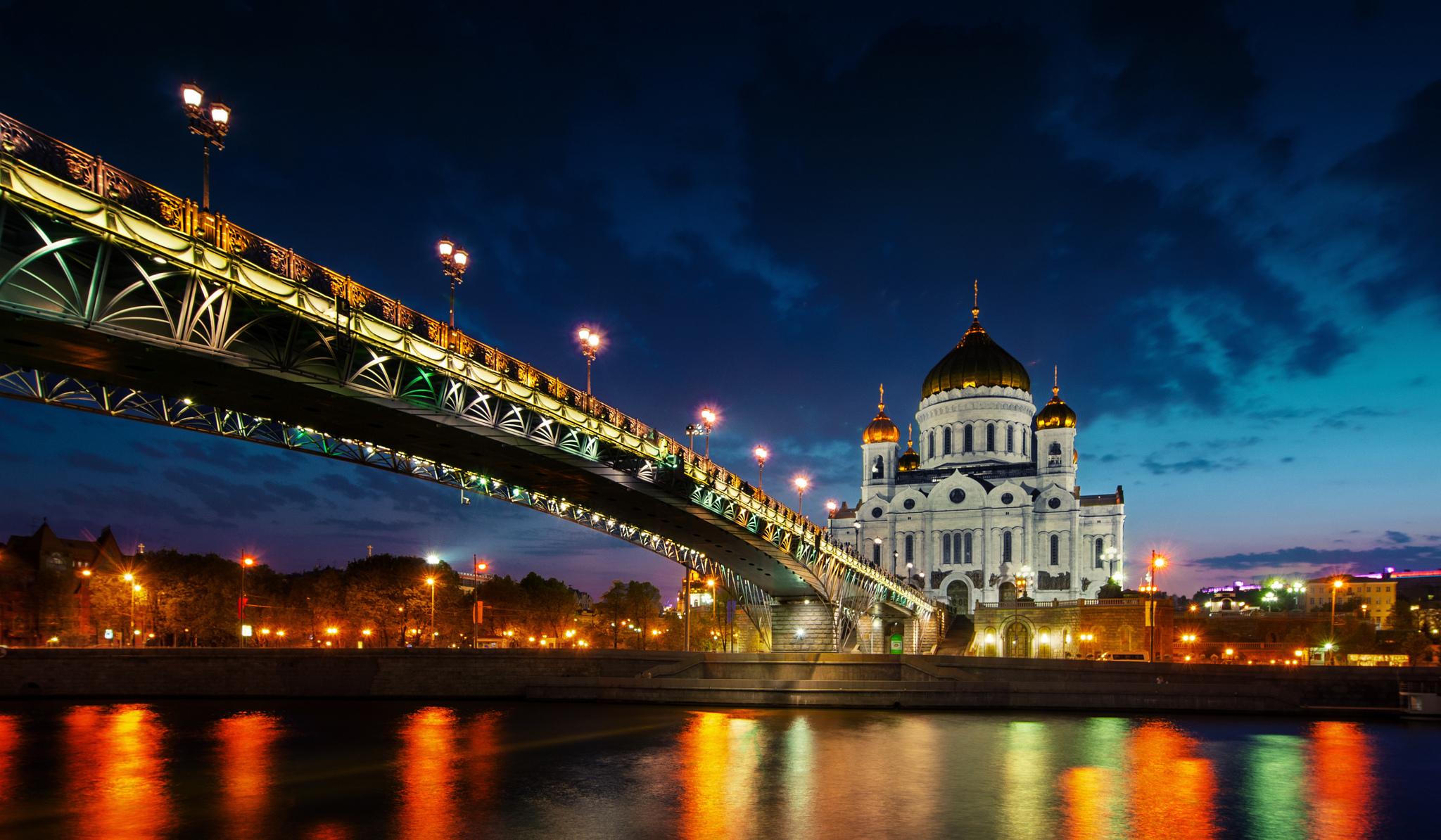 мост река россия the bridge river Russia бесплатно