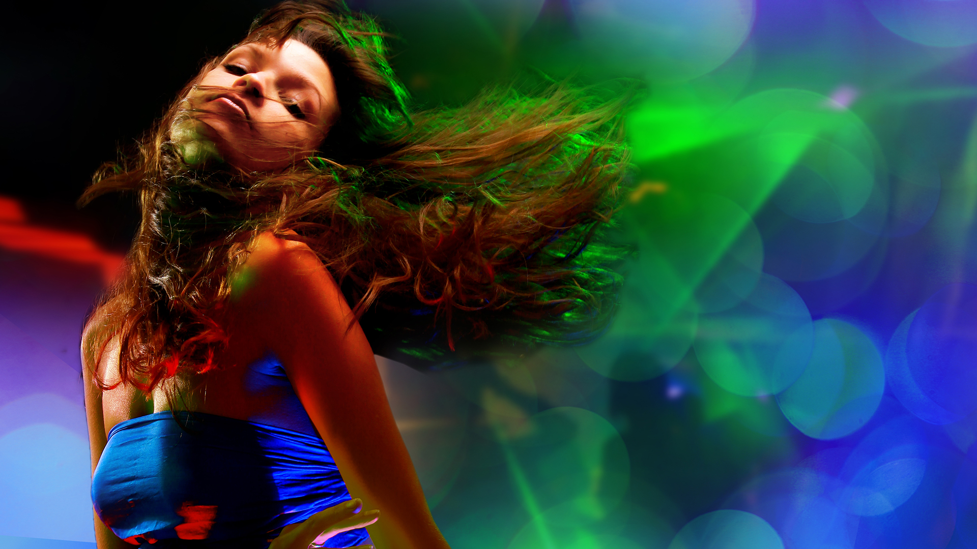 Танец красивой девушки  № 350451  скачать