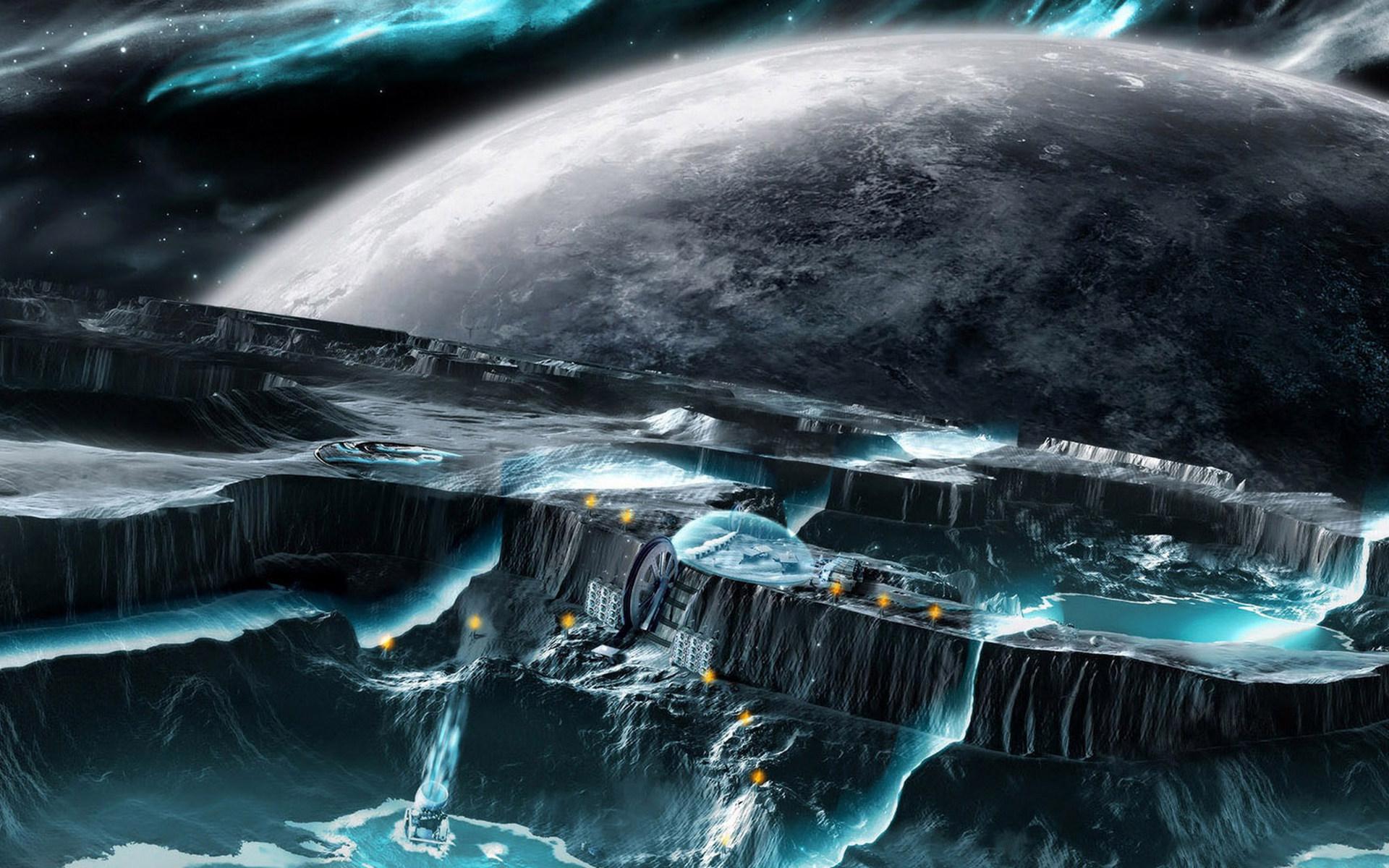 Обои Другой мир картинки на рабочий стол на тему Космос - скачать скачать