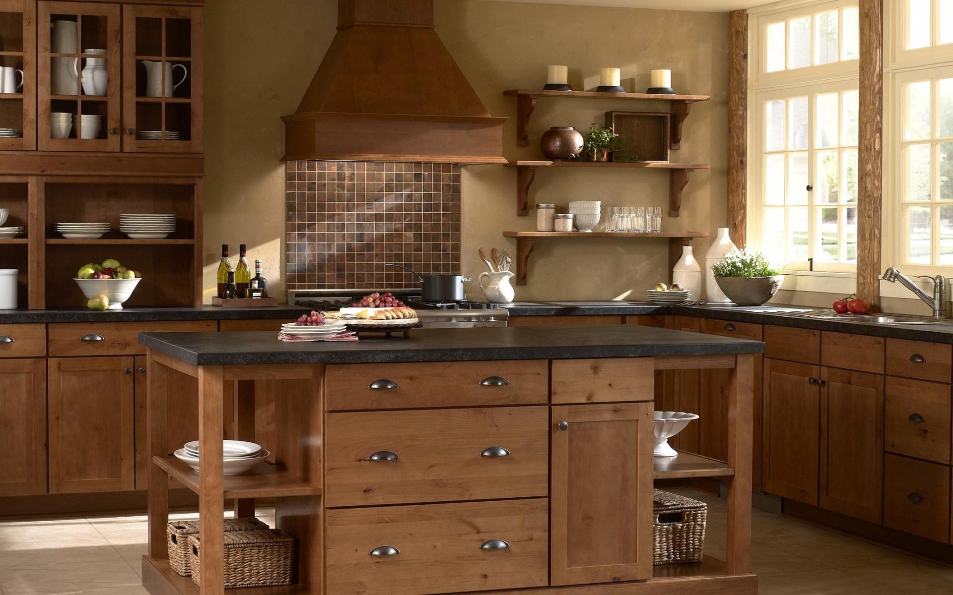 Кухня интерьер посуда загрузить