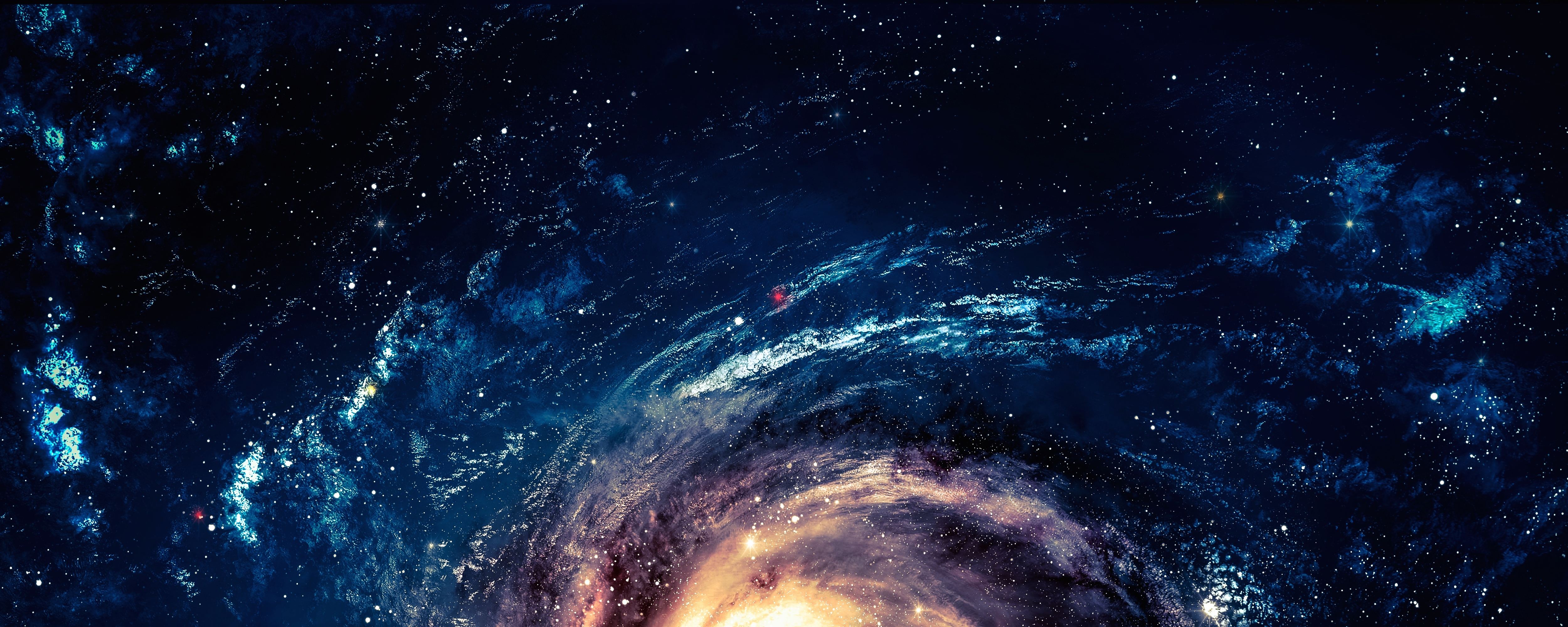 Обои галактика космос звезды картинки на рабочий стол на тему Космос - скачать  № 3548530  скачать