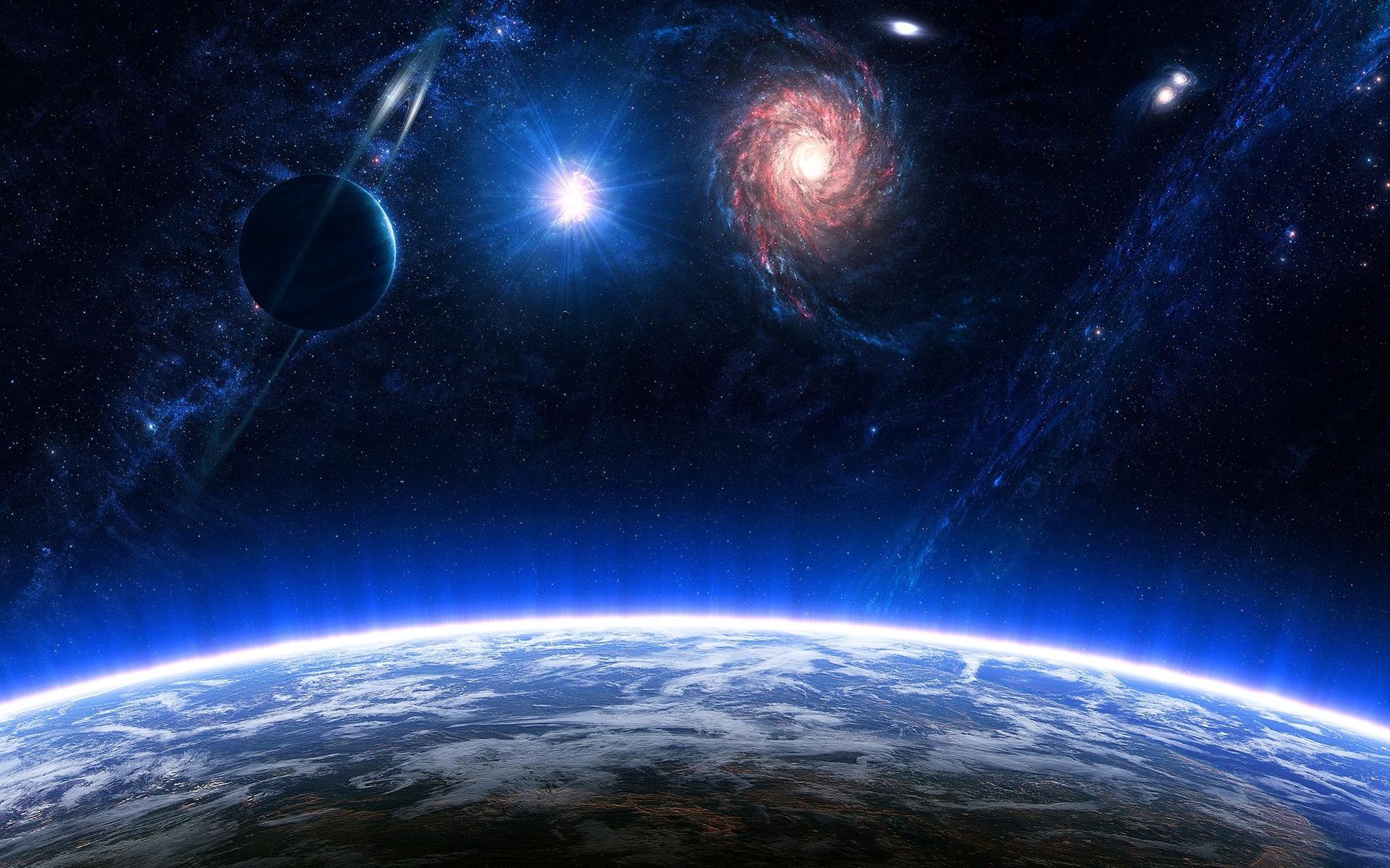 Обои галактика космос свет картинки на рабочий стол на тему Космос - скачать  № 1758561 без смс