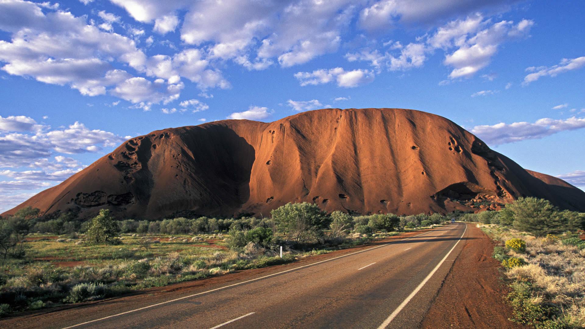 Uluru-Kata Tjuta National Park, Australia  № 891610  скачать