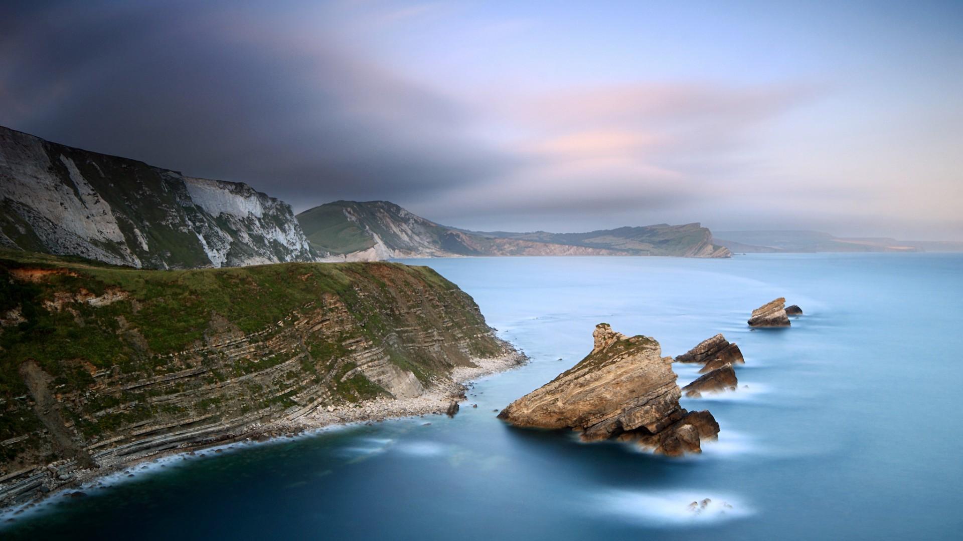 природа море скалы берег загрузить