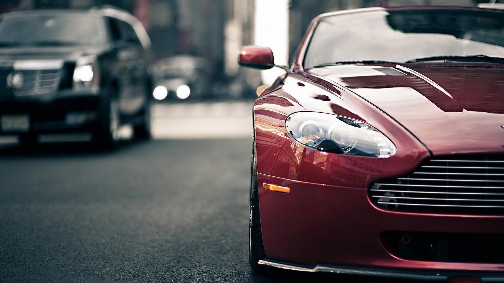 Aston Martin суперкар ночь город  № 2374867 загрузить