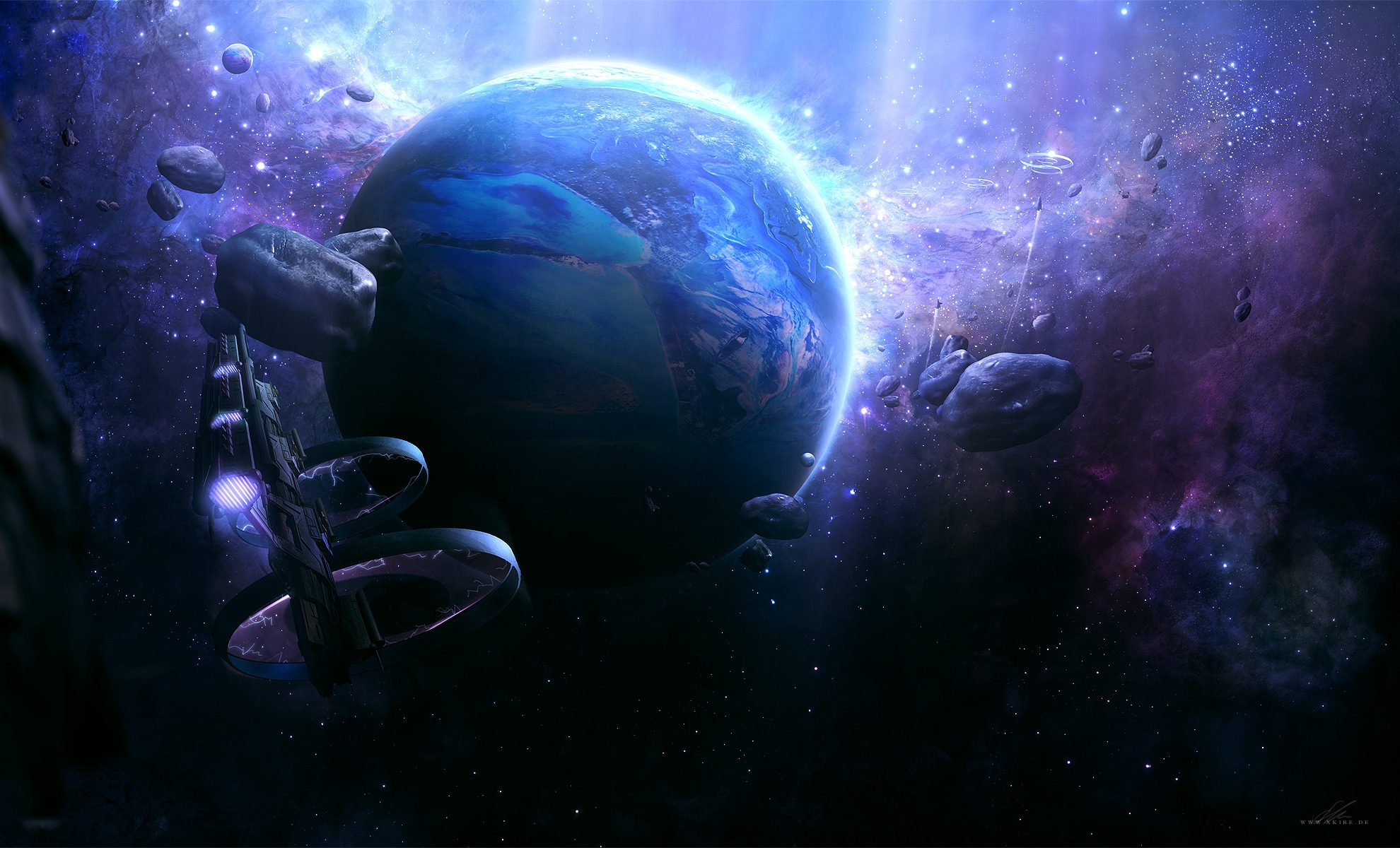 Обои планета космос орбита картинки на рабочий стол на тему Космос - скачать  № 1757025 бесплатно
