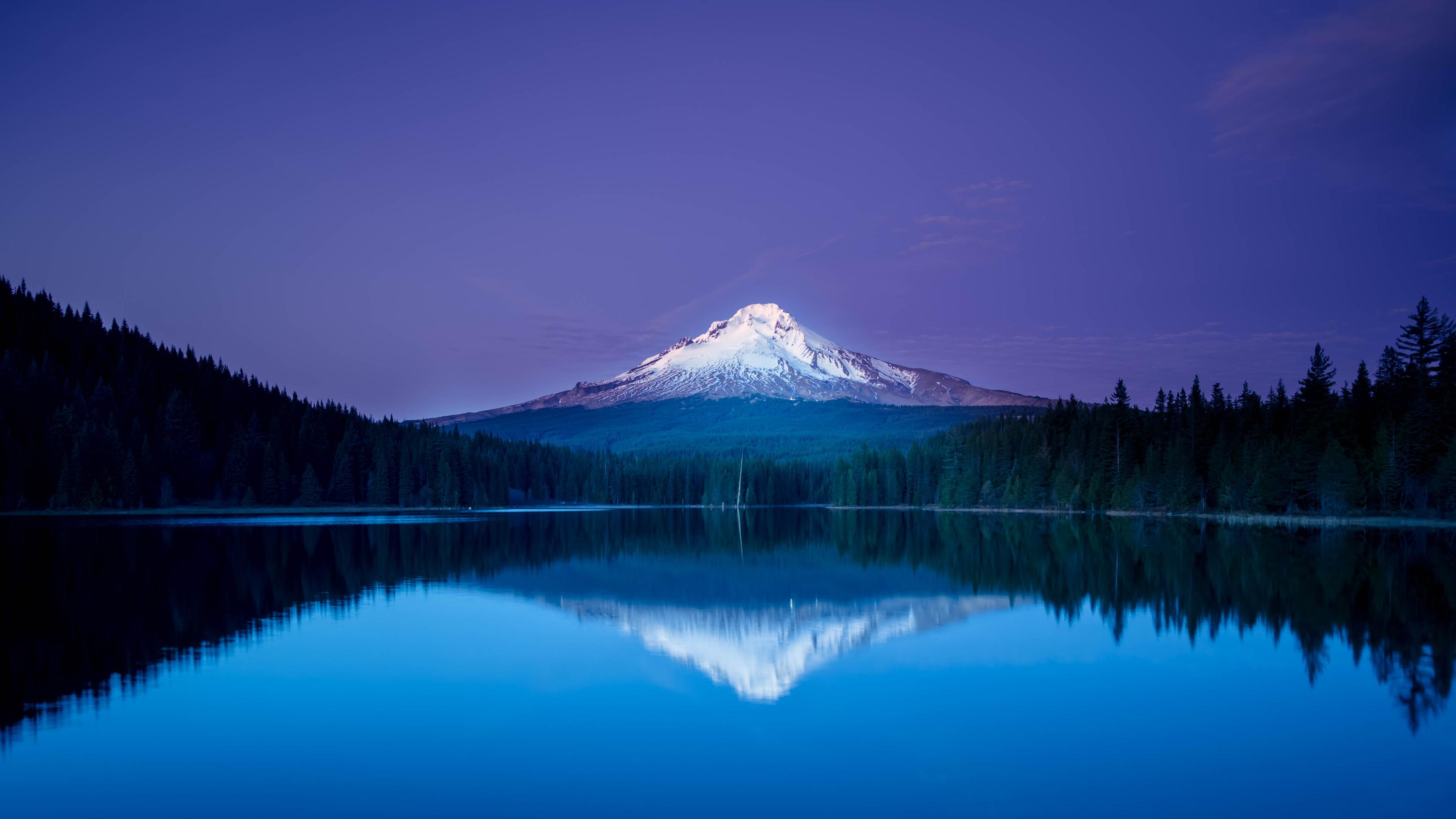 гора отражение озеро онлайн