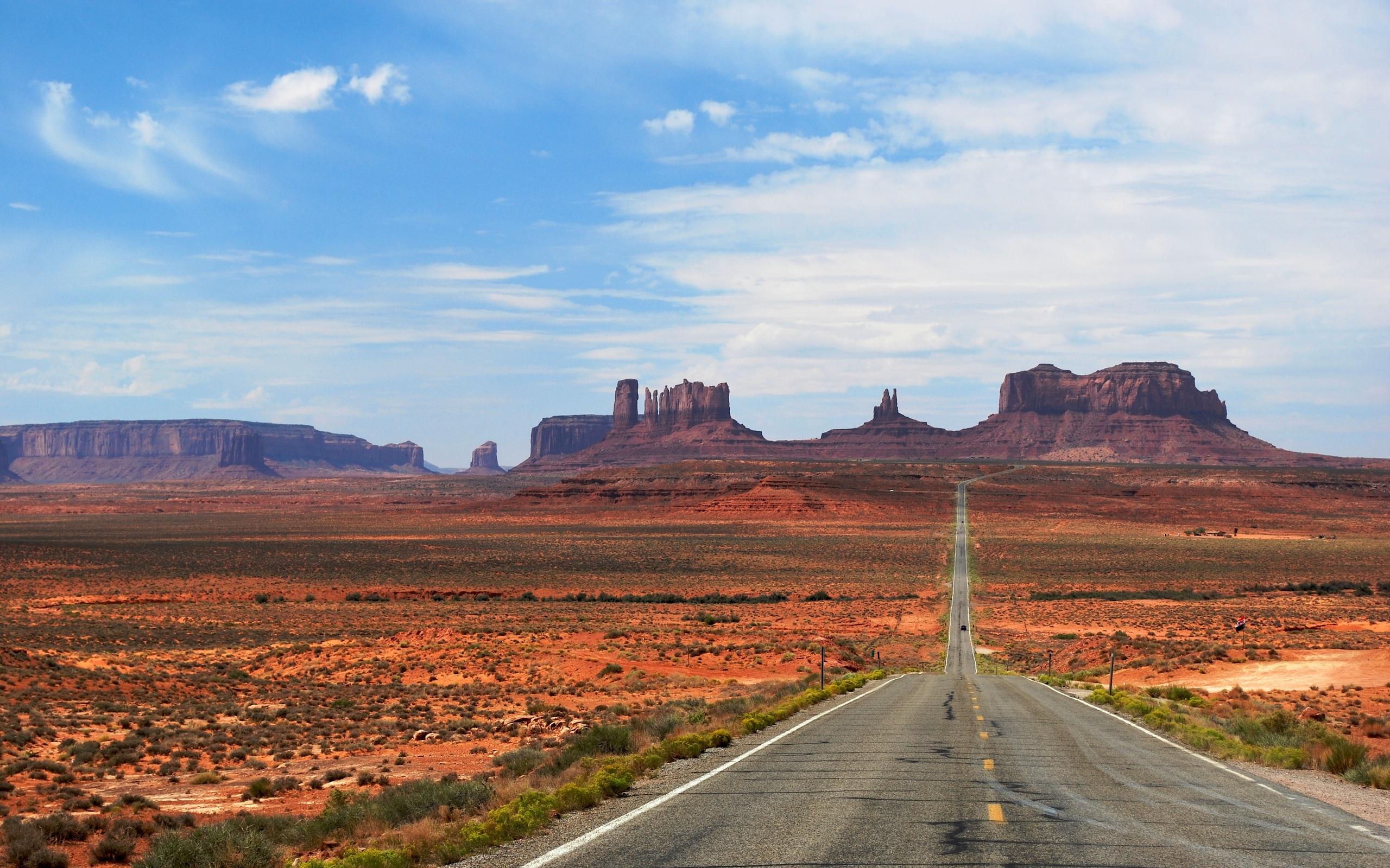 природа дорога скалы пустыня nature road rock desert бесплатно