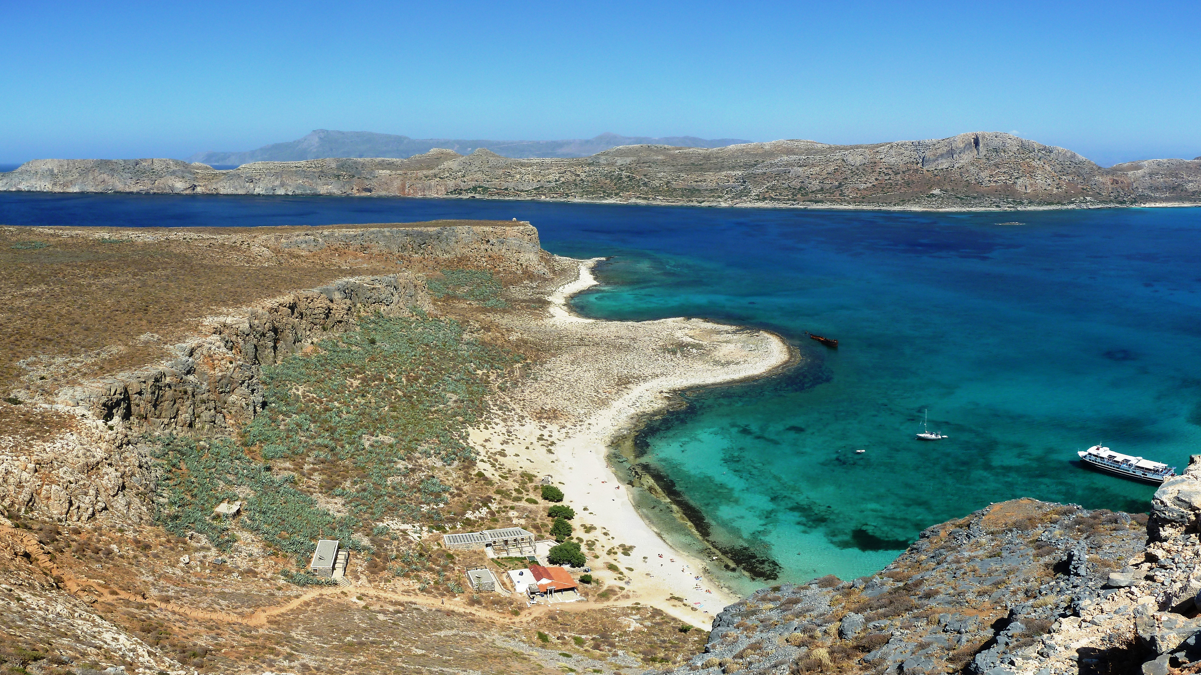 залив греция море бесплатно