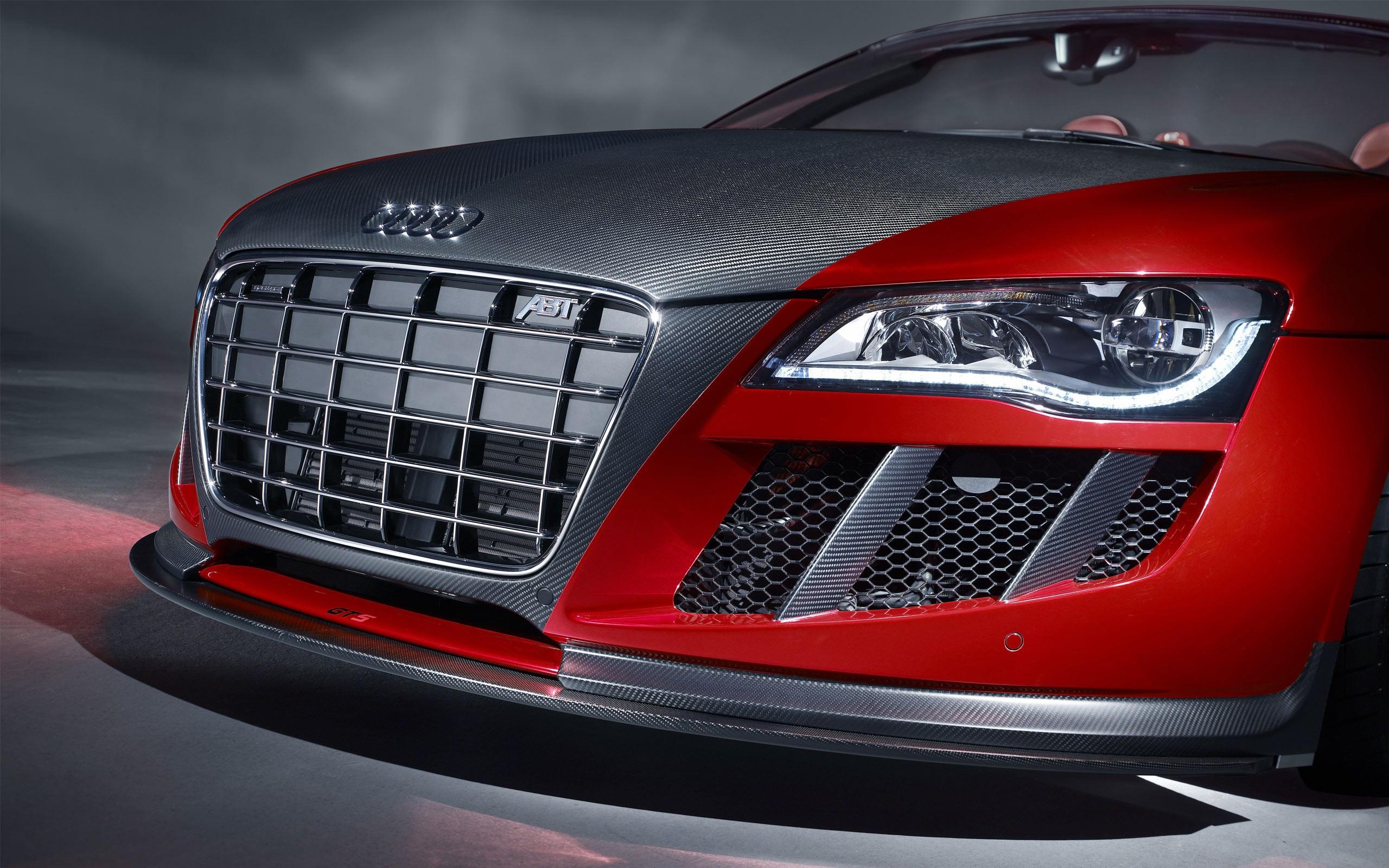 Audi ABT Red and Carbon скачать