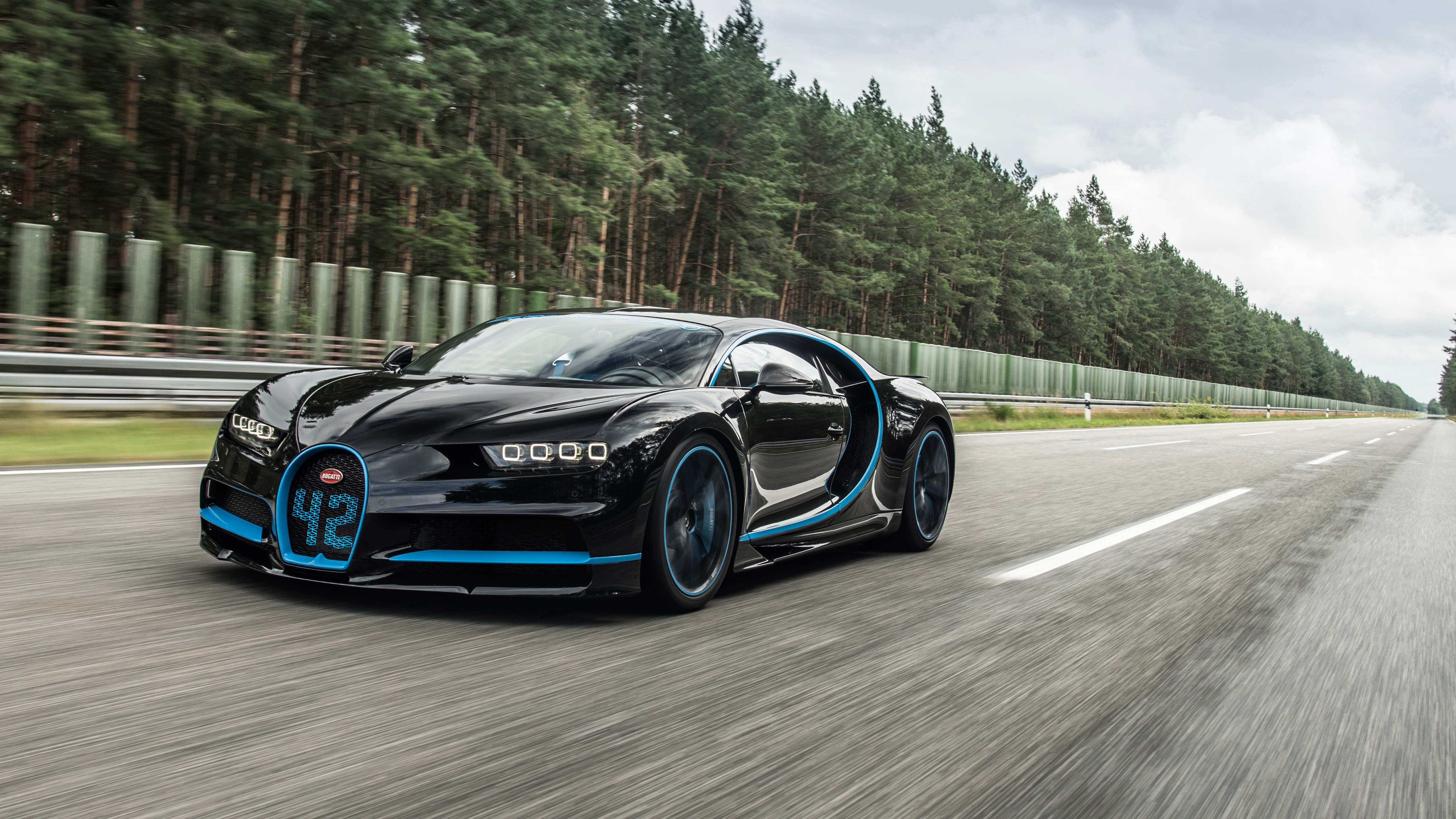 Bugatti Chiron дорога загрузить