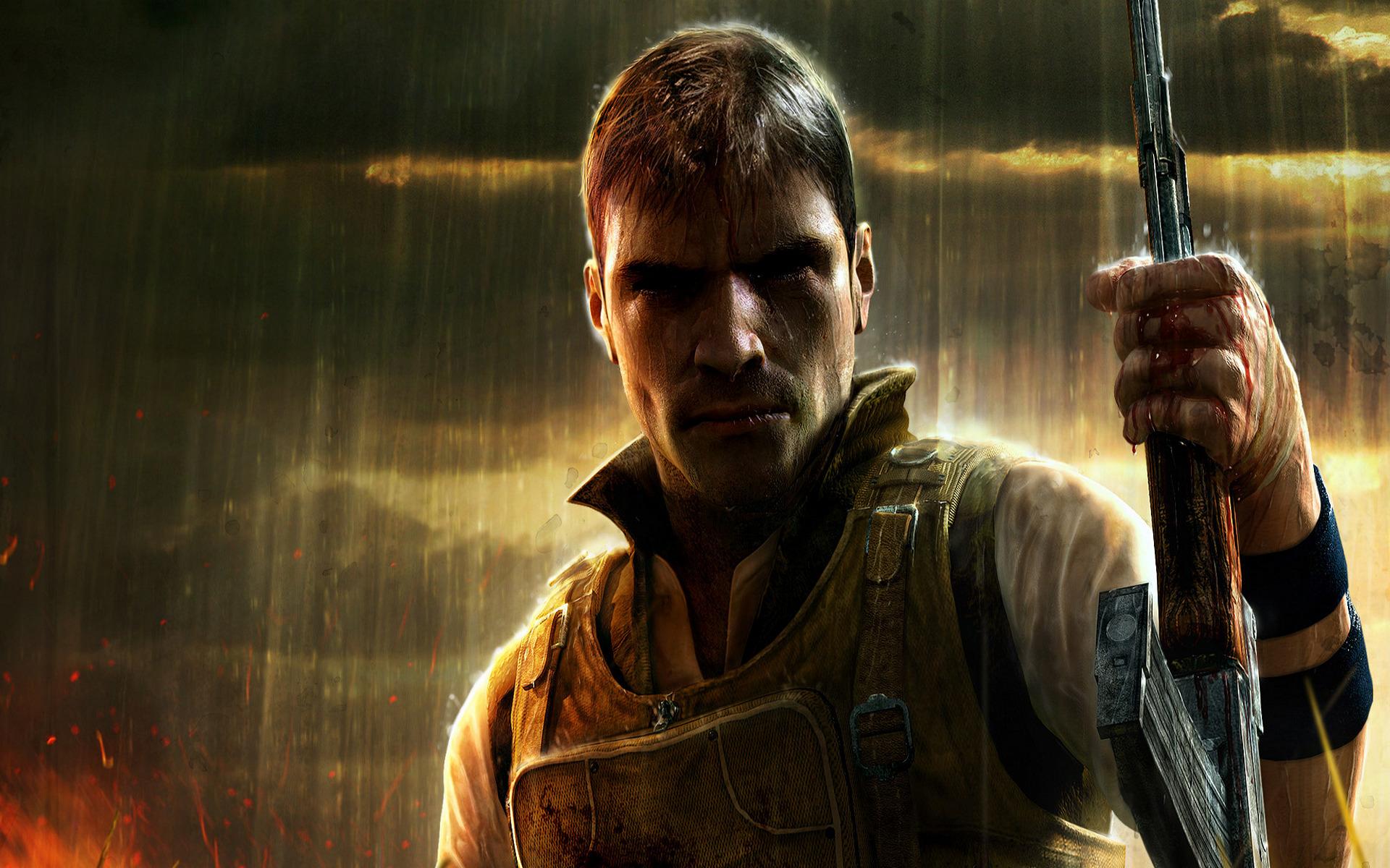 Far Cry 2 игры оружие мужчина загрузить