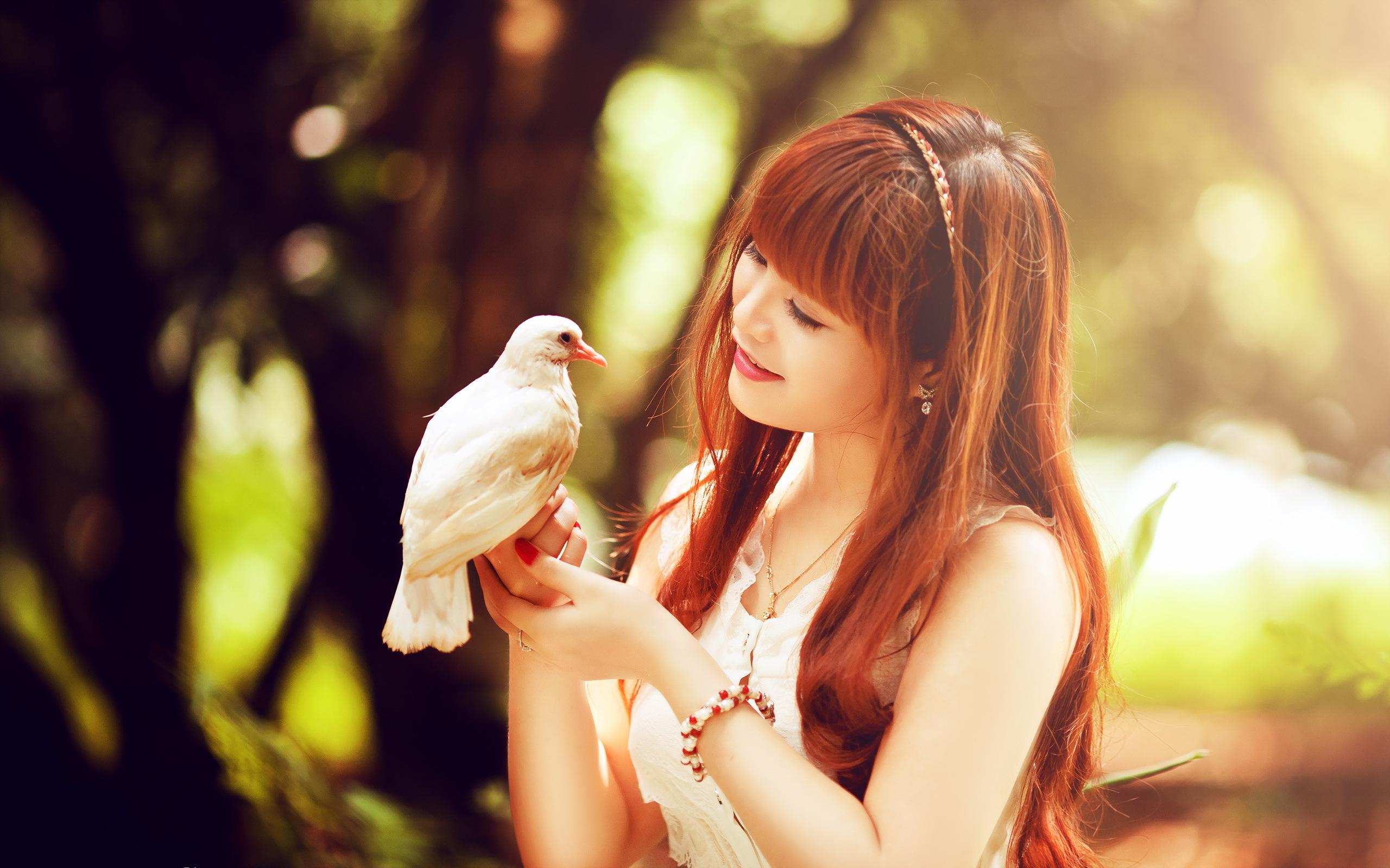 девушки птицы бесплатно
