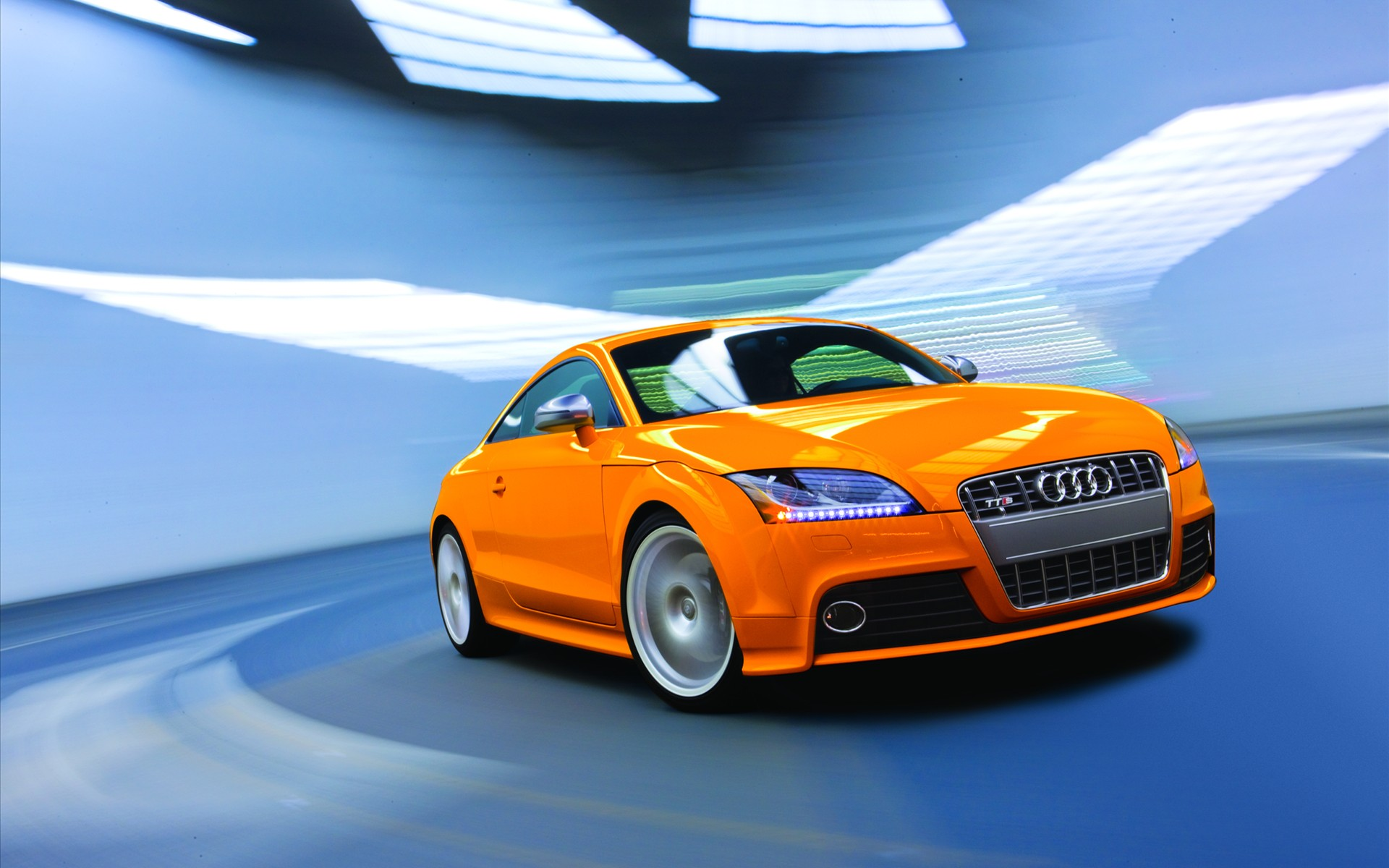 Audi TT спорткар дорога  № 3769022 без смс